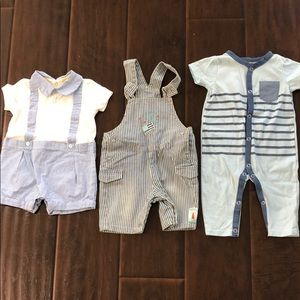 Baby boys summer outfits lot